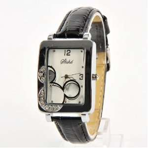 Mickey Mouse Head Wrist Watch Wristwatch Black: Toys & Games
