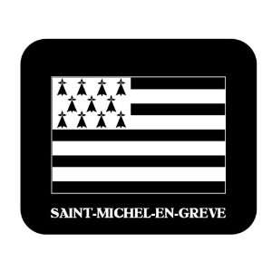 (Brittany)   SAINT MICHEL EN GREVE Mouse Pad: Everything Else