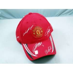 FC MANCHESTER UNITED OFFICIAL TEAM LOGO CAP / HAT   MU026