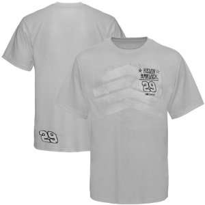 Chase Authentics Kevin Harvick Crest T Shirt   Gray