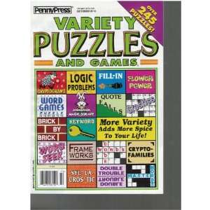 Penny Press Variety Puzzles and Games (October 2010