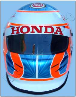 JENSON BUTTON 2004 F1 HONDA REPLICA HELMET SCALE 11