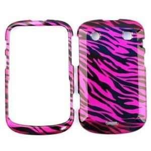 BlackBerry Bold 9900 Transparent Design, Hot Pink Zebra