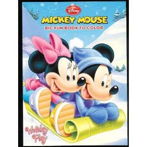 Mouse Big Fun Book To Color ~ Holiday Play Creative Edge Books