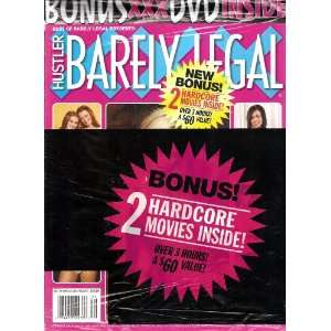 Best of Barely Legal with 2 Bonus DVDs HUSTLER Books