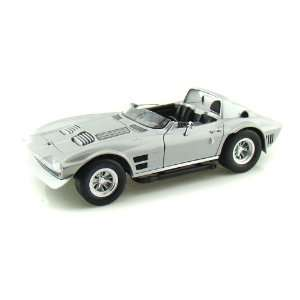 Doms Chevy Corvette Grand Sport From Fast 5 1/18 Silver Toys & Games