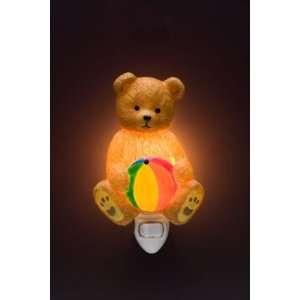 of Light Night Light Teddy Bear Ibis and Orchid