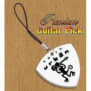 Keith Urban Mobile Phone Charm Bass Guitar Pick Both Sides