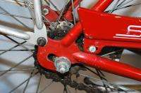 Typhoon middleweight bicycle bike Flamboyant Red 26 cantilever