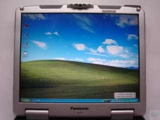 Panasonic CF 30 CF 30CASLXBM Toughbook Core Duo 1.6GHz Laptop No