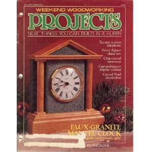Weekend Woodworking Projects November 1990 (Neat Things