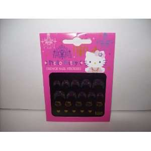 Hello Kitty French Manicure Nail Art Stickers Beauty