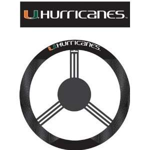 University of Miami Hurricanes Steering Wheel Cover