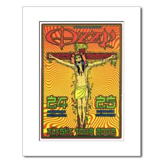OZZY OSBOURNE   Ozzfest 1998   Matted Mini Poster