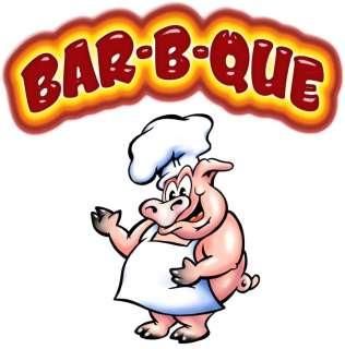 BAR B QUE BBQ Barbeque Concession Decal 18 Food Trucks