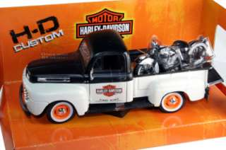 HD 1948 FORD F1 PICKUP HARLEY DAVIDSON + 1948 FL 1/24