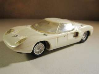 Vintage Strombecker 1/32 Ford GT Slot Car