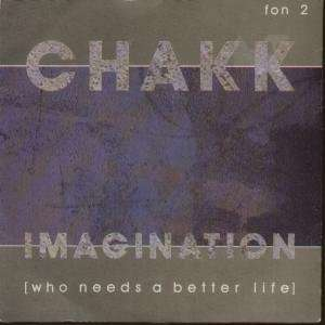 IMAGINATION 7 INCH (7 VINYL 45) UK FON 1986: CHAKK: Music
