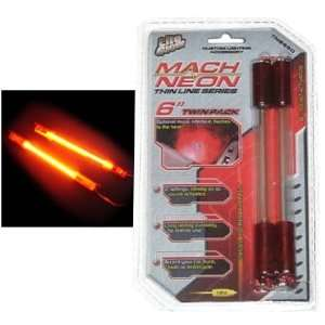 Thin LIne  6 inch Sound Activated Neon Rods  Red(pair): Automotive