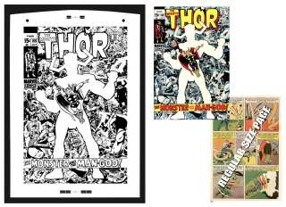 Jack Kirby Thor #169 Rare Large Production Art Cover