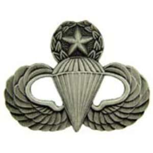 U.S. Army Master Paratrooper Pin Pewter 1 1/4 Arts