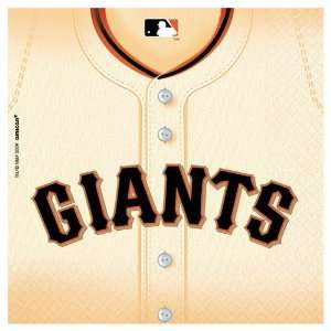 Amscan San Francisco Giants Baseball   Lunch Napkins