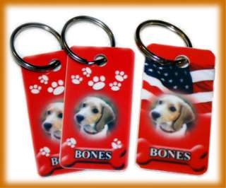 Pet Id Tag Dog Cat   With Photo (Customize 3 Designs)