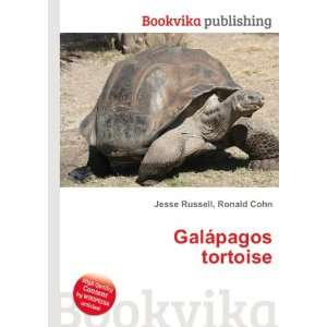 Galápagos tortoise: Ronald Cohn Jesse Russell: Books