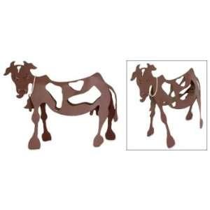Steel statuette, Moo Cow