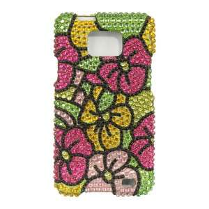 Crystal Diamond BLING Case Phone Cover AT&T Samsung Galaxy S II 2
