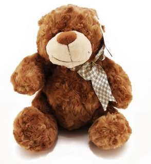 SUPER CUTE~ TEDDY BEAR DOLL TOY 10 BROWN NEW