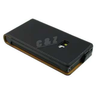 Genuine Leather Case Pouch + LCD Film for NOKIA N9 f