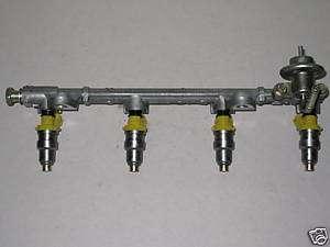 93 97 Geo Prizm Toyota Corolla 1.6L Fuel Injector Rail