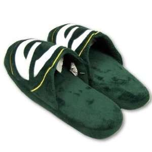 Green Bay Packers NFL official 2010 Big Logo Mens size small Slippers