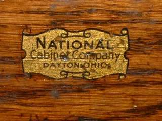 CABINET COMPANY MACHINIST TOOL BOX CHEST PRE GERSTNER ???