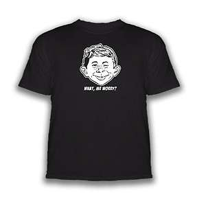 Alfred E Newman T Shirt (Long or Short Sleeve)
