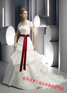 Custom New White/Ivory Brides Wedding dress Size4 28