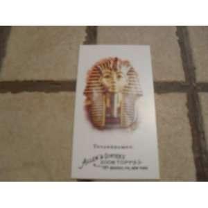 2008 Topps Allen & Ginters Tutankhamen Mini Icons Card