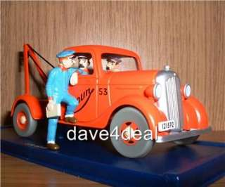 TINTIN CAR #59 Chevrolet Breakdown Truck 1936   MINT&BOXED