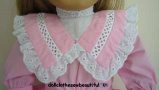 Spring Party Dress fits American Girl Nellie Doll SWEET