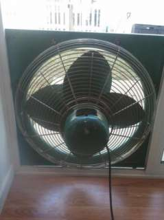 Vintage Belco 27 2 Speed window fan Wind O Cool Antique fan