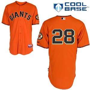 San Francisco Giants Authentic 2012 Buster Posey Alternate Cool Base