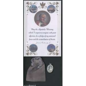 Saint/St. Rita Medal Blessed by Pope John Paul II Patron to Difficult