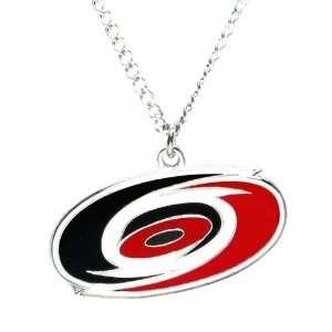 Carolina Hurricanes   NHL Logo Pendant Necklace Sports