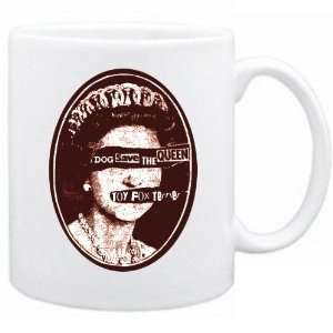 New  Toy Fox Terrier  Dog Save The Queen  Mug Dog