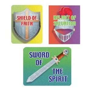 FRANK SCHAFFER PUBLICATIONS IF 99016 STICKERS ARMOR OF GOD
