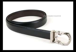 Mens Business Dress Leather Belts Silver DG03 BLACK