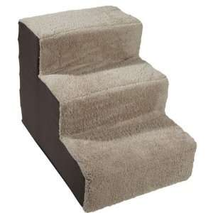 Three Step Home Decor Pet Steps   Brown (Quantity of 1