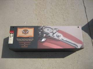 99 Harley FXDWG Dyna Wide Glide Chrome Console Kit