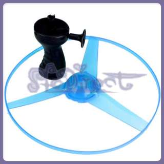 New Multi Color LED Flashing Flying Saucer Helicopter